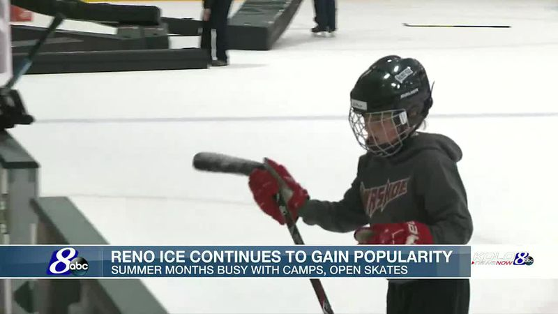Reno Ice gaining popularity months after opening