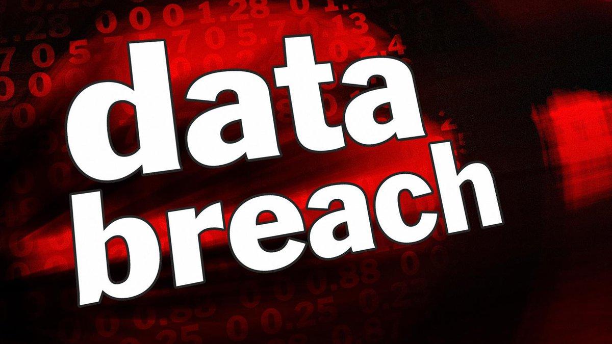 Data breach graphic