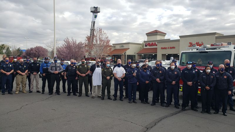 """Nevada Donor Network is leaning on first responders to help """"End The Wait"""" for tens of..."""