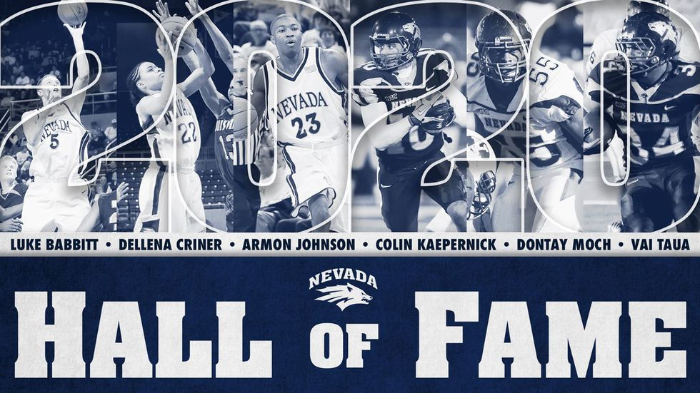 2020 Wolf Pack Hall of Fame