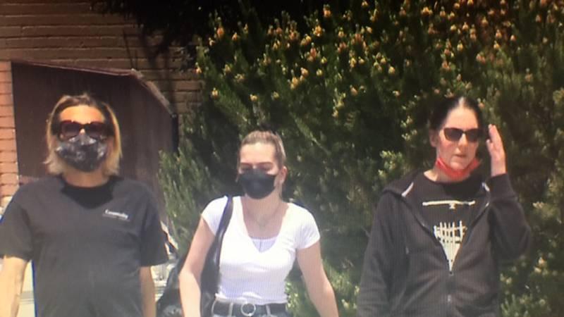 People wearing masks regardless of new guidelines