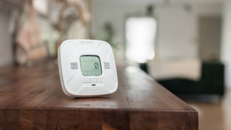 The Knox Safety Carbon Monoxide (CO) Alarm is the only one that tells you what to do in a CO...
