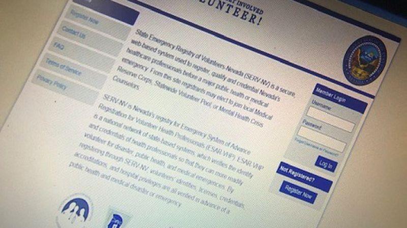 NVSERV.ORG volunteer page