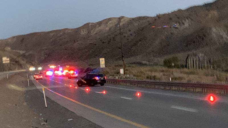 NHP and WCSO investigate the discovery of a dead body in a vehicle on I-80 near Vista Blvd.