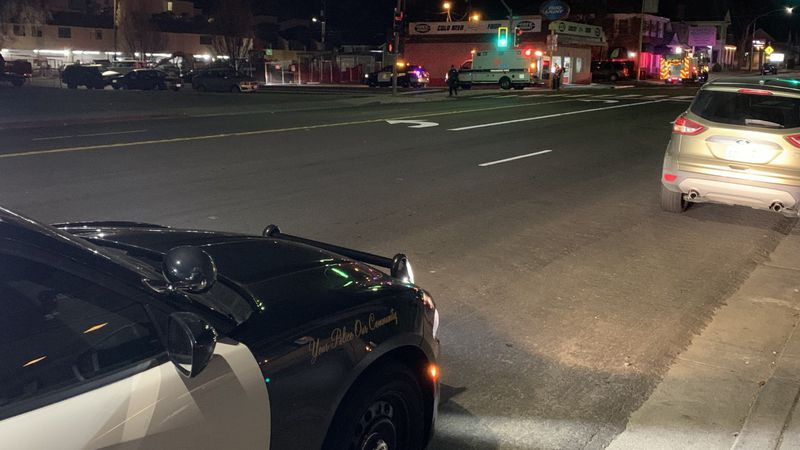 Reno Police investigate a stabbing in the area of 2nd and Ralston St.