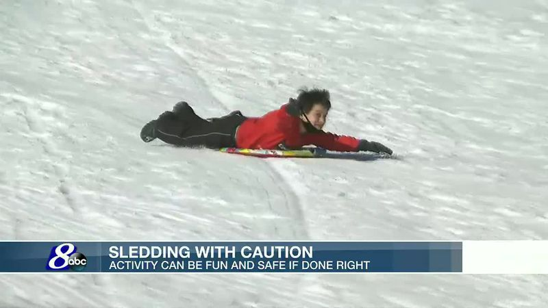 Staying safe on the sledding hill