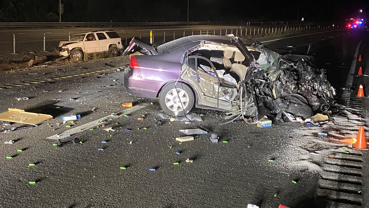 One driver was killed when she hit another car head-on on I-80 at Boomtown.