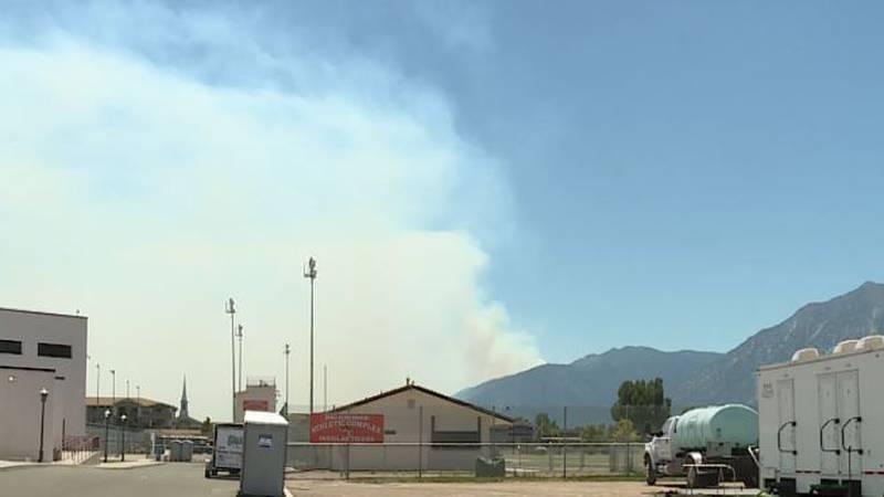 Tamarack Fire Crosses into Nevada