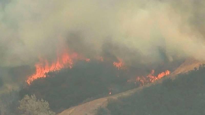 Traveling Wildfire Smoke