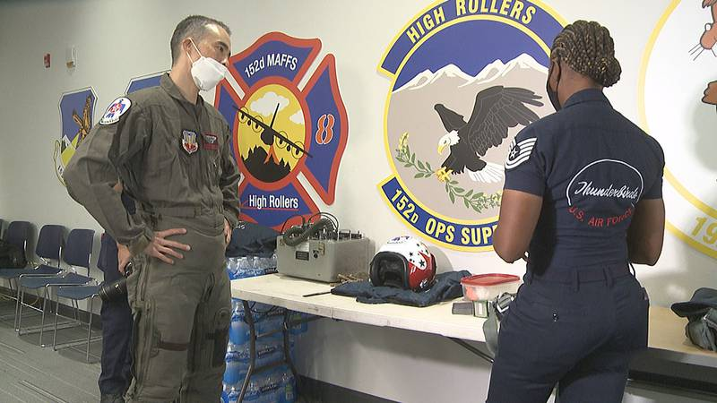 Hometown Hero goes through hours of training for trip of a lifetime