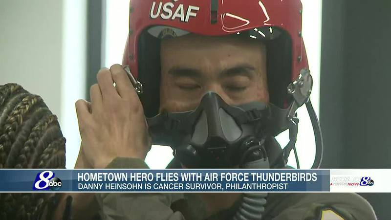Flying With the Air Force Thunderbirds: Danny Heinsohn's memorable ride