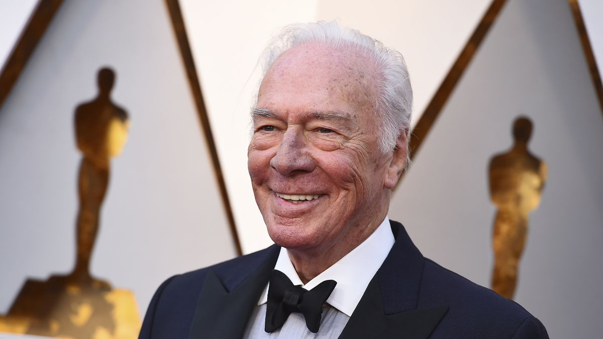 Christopher Plummer arrives at the Oscars on Sunday, March 4, 2018, at the Dolby Theatre in Los...