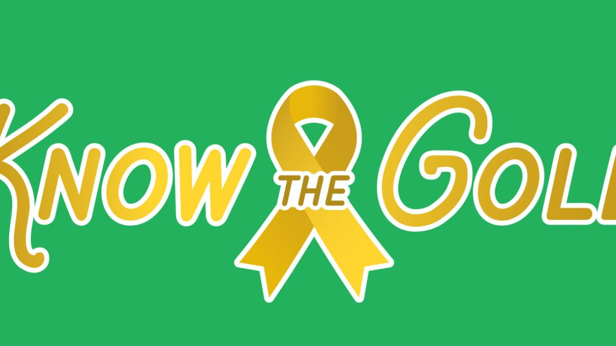 The 'Know the Gold' campaign kicks off Tuesday, September 1, 2020.