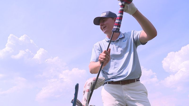 Ollie Osborne, now a junior at SMU, was back on the links at Montreux just two days after...