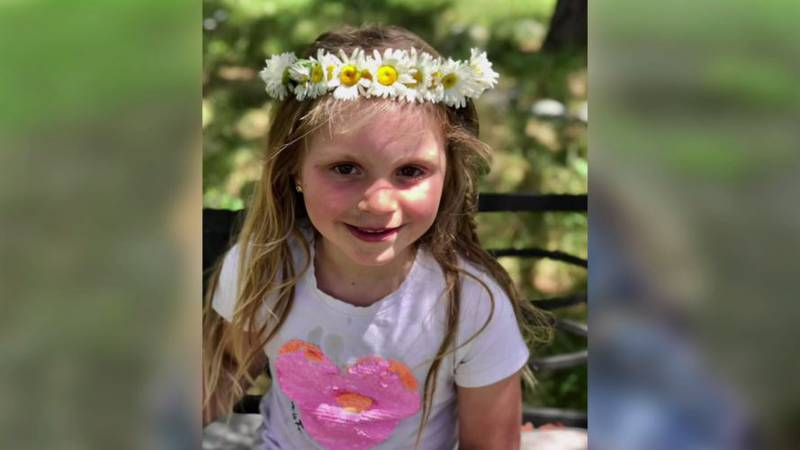 Julianna Tutrone, 5, is back home recovering from emergency surgery after a car crashed into...