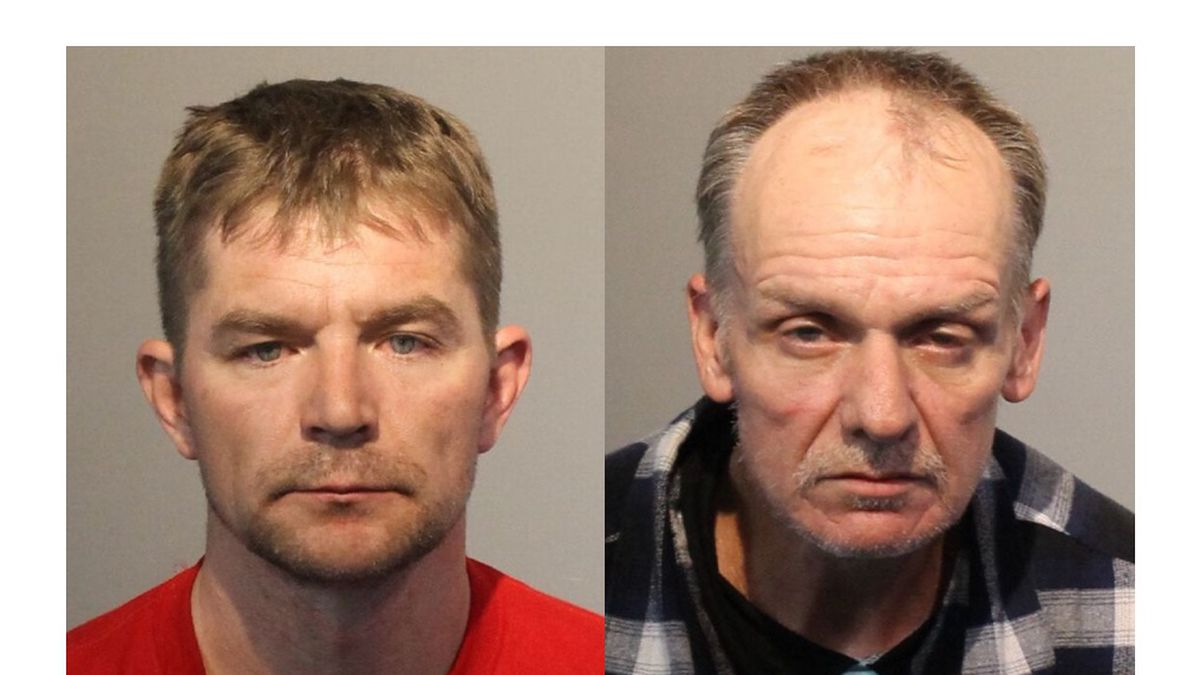 Detectives arrested Craig Maggard and John Gilchrist on April 11, 2021 while they were...