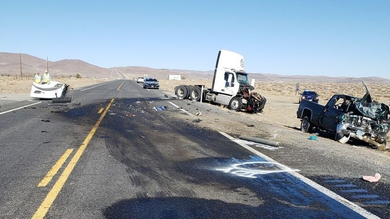 A Silver Springs woman was killed in a head-on crash with a Peterbilt on Sunday, January 17,...