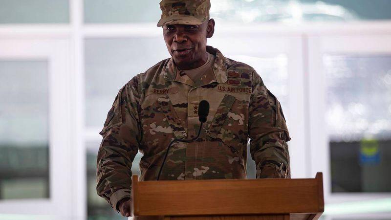 Highlighting NV National Guard Ondra Berry's journey
