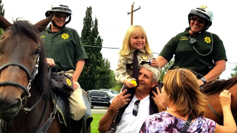 The Carson City sheriff's Office provided this photo for Sheriff's Night Out.