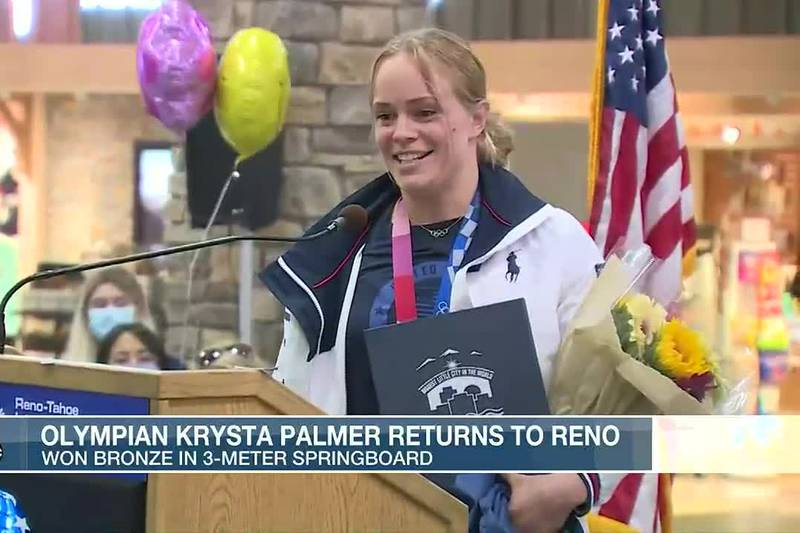 Krysta Palmer Back Home
