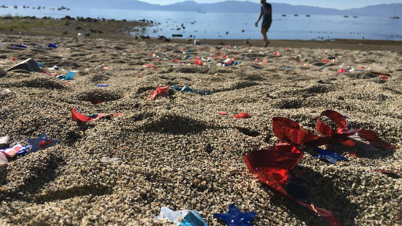 Volunteers plan to meet Monday, July 5, 2021 to clean up after Independence Day celebrations...