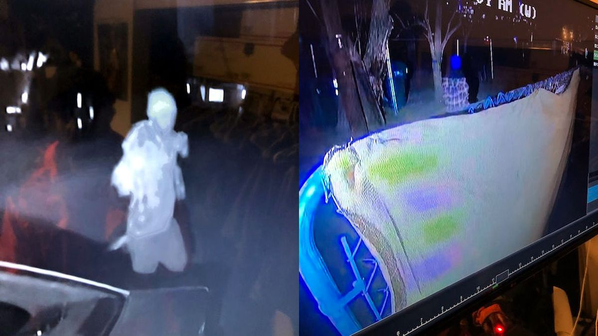 Security camera pictures of a person of interest in a Sparks shots fired call in the 400 block...