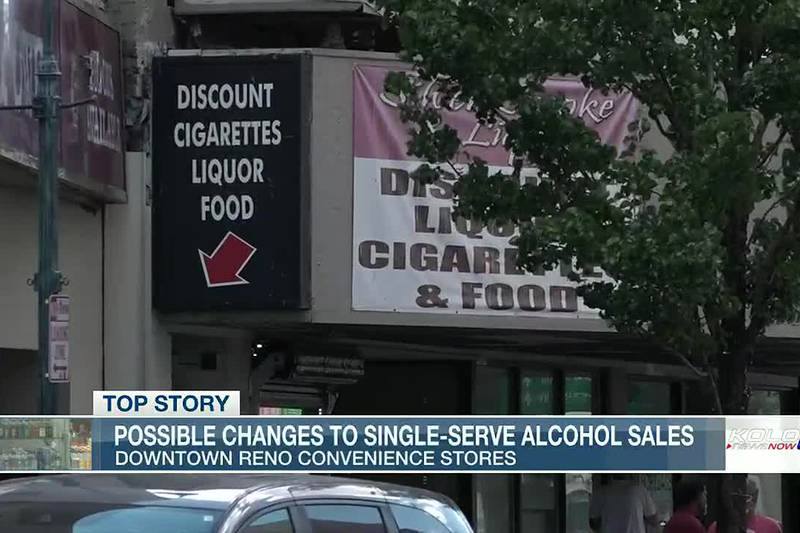 Staff is considering limiting or possibly stopping the sale of all single-serve beer and liquor...