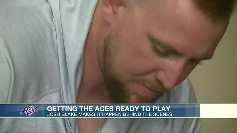 Aces clubhouse manager major part to team's success