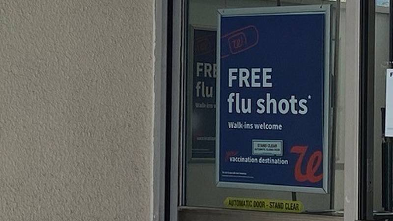 Local pharmacy offers flu vaccines to customers