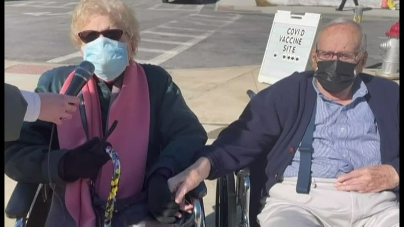 In the midst of a tough winter, the love between two 94-year-olds in New York blossomed, and...