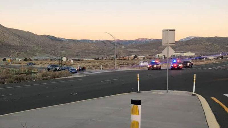 A pedestrian was killed after being hit by multiple vehicles in Carson City on Wednesday,...