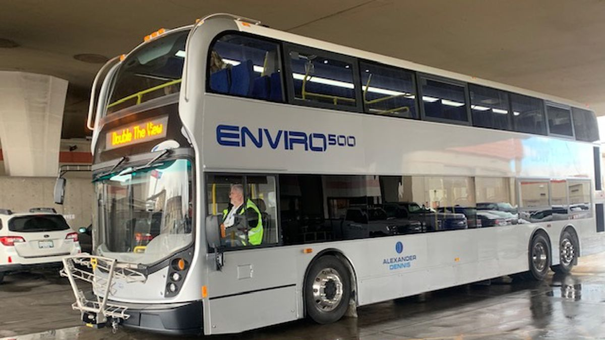 The RTC has introduced a new double-decker bus that will be part of a three week demonstration in the Reno area.