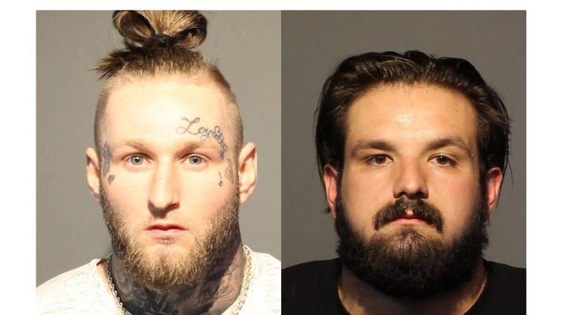 Justin Gardner-Edelman, 22 (left) and Roman McGregor, 23 (right).