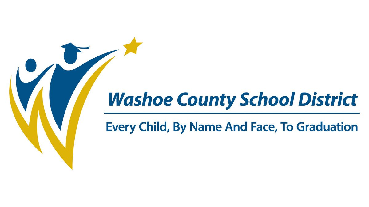 Washoe County School District logo.