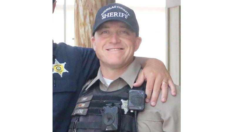 Sergeant John Lenz was shot during a traffic stop in Gardnerville on December 20, 2020.