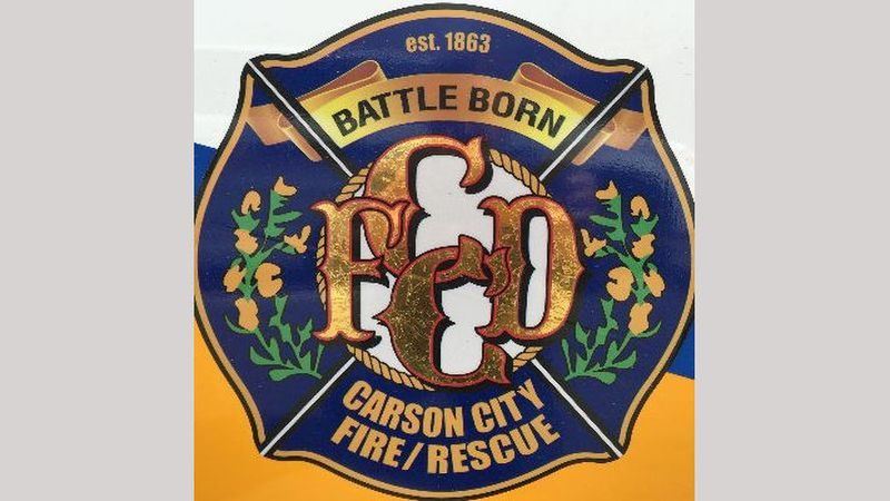 Carson City Fire Department logo.