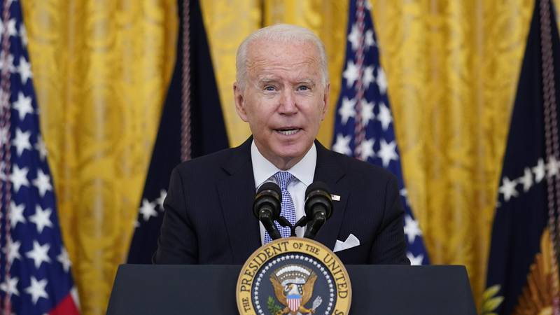 President Joe Biden will pay tribute to law enforcement officers who responded to the Jan. 6...