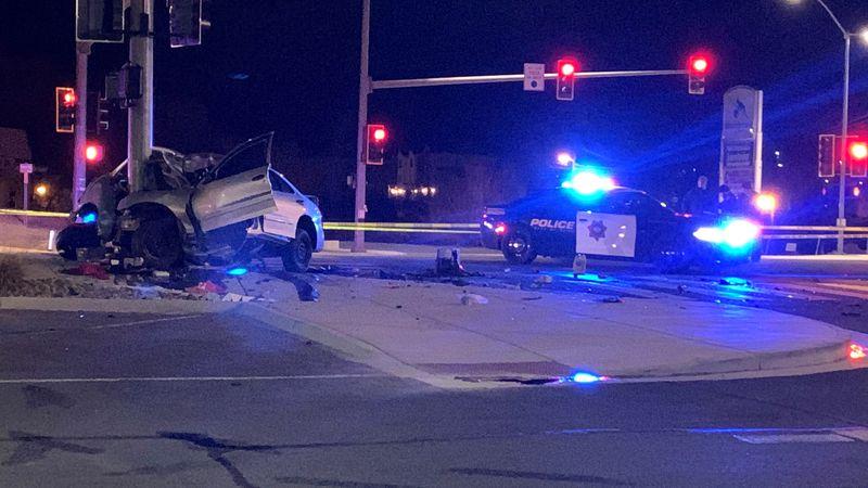 Fatal crash on N. Virginia