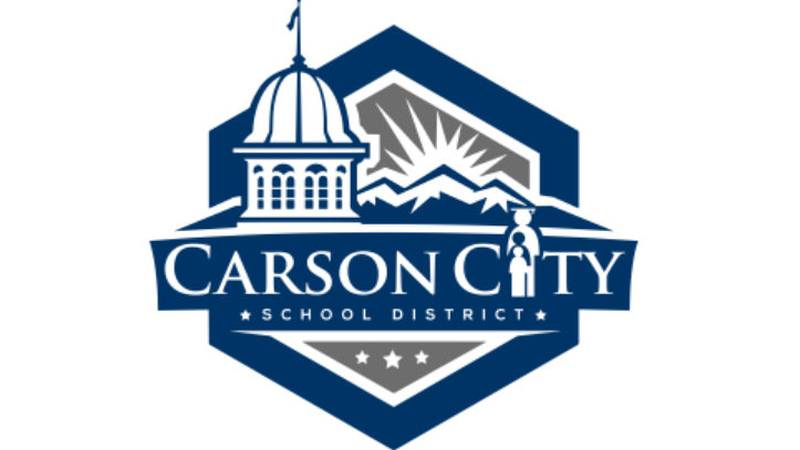 Carson City School District logo.