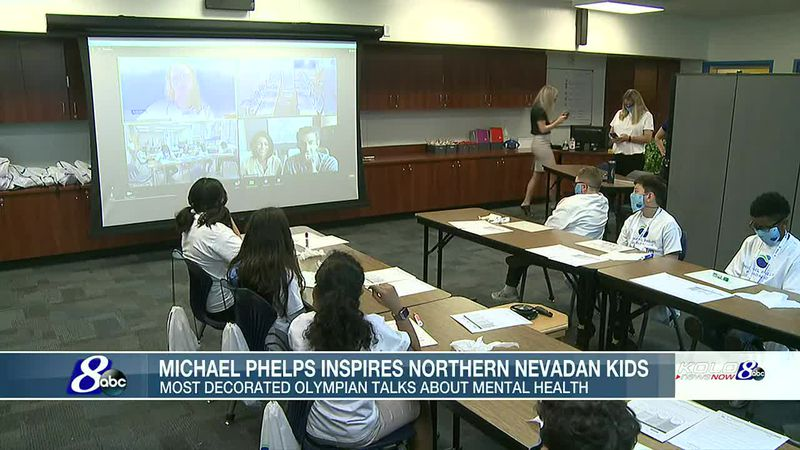 Michael Phelps inspires Northern Nevadan kids