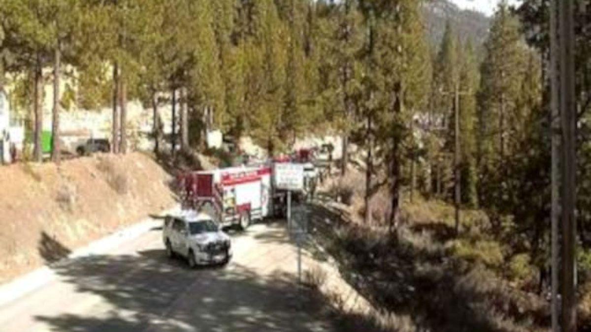 This crash closed Nevada 28 near the border with California.