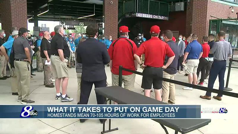 What it takes to hold Game Day at Greater Nevada Field