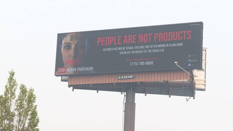 The PSA campaign can be seen on billboards around Reno
