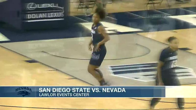 Wolf Pack women's team gets first conference win of season