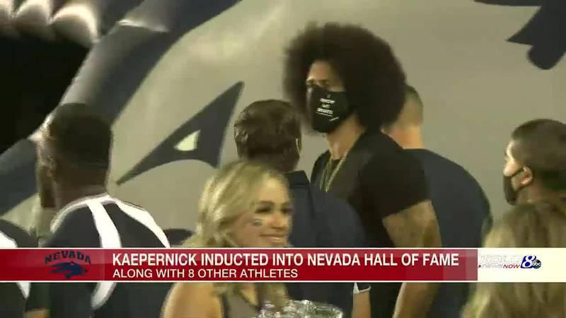 Kaepernick returns to Reno; Nevada Football blows out Idaho State 49-10
