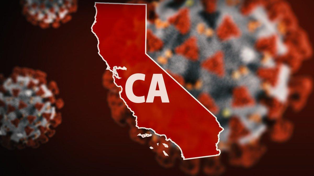 California COVID-19 graphic