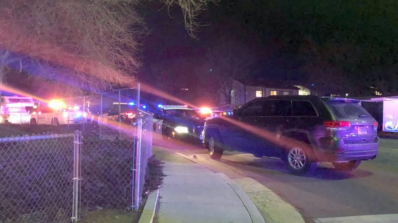 The scene of the police shooting of Daniel Markley Murillo in northeast Reno.