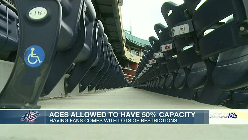Reno Aces to open season at 50 percent capacity
