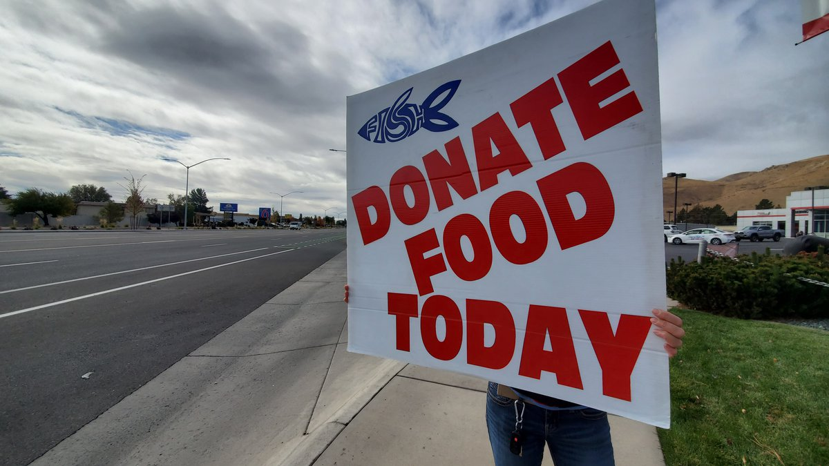 Friends in Service Helping is collecting food in Carson City for their food banks.