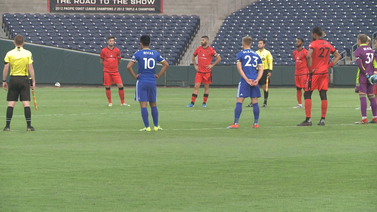 Reno 1868 FC and Phoenix Rising come together to stand against social injustice